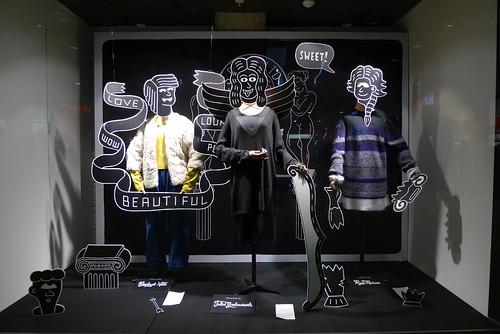 Vitrine Esprit - Paris, octobre 2012