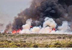Australia (john white photos) Tags: trees fire smoke flames australian australia southaustralia mere scrub wildfire bushfire sleaford eyrepeninsula uncontrolled