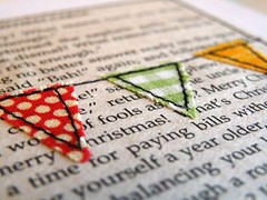 On my table these days (monaw2008) Tags: paper handmade fabric card applique monaw monaw2008