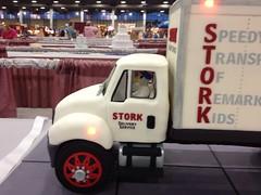 Stork Delivery Truck Cake (RDPJCakes) Tags: cake fondant ossas 3dsculptedcake rdpjcakes
