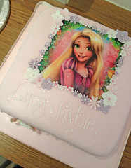Disney Rapunzel Birthday Cake