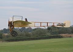 Bleriot XI monoplane c/n 14 (G-AANG) - the world's oldest aeroplane (stancs) Tags: shuttleworth shuttleworthcollection oldwarden gaang bleriotxi autumnairdisplay oldestaeroplane