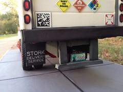 Stork Delivery Truck Cake (RDPJCakes) Tags: cake fondant ossas 3dsculptedcake oklahomastatesugarartshow rdpjcakes