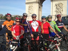 Paris Morning ride