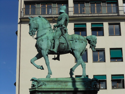 Green Copper Horseman