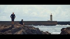 in progress (skateshop23raphael) Tags: sea portugal canon video porto filmmaking cinemascope sonya7s
