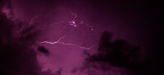 Lightning Storm (Brian Travelling) Tags: sky cloud weather wow scotland pentax fork lightning forklightning pentaxdal pentaxkr