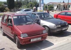 Daewoo Tico SX (Fuego 81) Tags: daewoo tico st109jp trogir croatia opel vectra st182lm