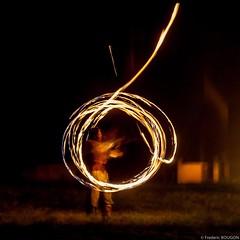Tourbillon  la fete mdivale (FredBoug) Tags: jongleur feu fete medievale fredboug frederic bougon ouville labbaye