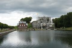 Canal du Centre, Belgium, July 2016