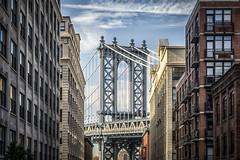DUMBO (Flipped Out) Tags: newyork newyorkcity brooklynbridge manhattan dumbo manhattanbridge