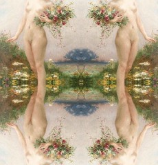 2016-08-23 symmetrical French nude paintings 3 (april-mo) Tags: french nu nude painting symmetry symmetrical collage art woman womanportrait portrait