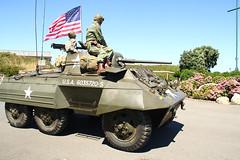 Un blindado M-8 Greyhound del US Army (Contando Estrelas) Tags: ariete ariete2016 lacoruña acoruña recreación histórica militar historical military reenactment reenactors recreadores worldwar2 segundaguerramundial 2ªguerramundial