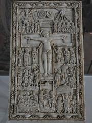 Placa de marfl, siglo IX (kakov) Tags: narbonne narbona languedocroselln siglo century 9th ix arte carolingio carolingian art