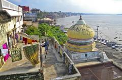 varanasi ([toffa]) Tags: varanasi benares uttarpradesh ganga gangariver india ghat gangesriver hinduism dashashwamedhghat ablution ritual religion hinduist pray holycity 2016