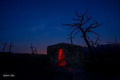 El bosc de les Creus II (Rbrt) Tags: boscdelescreus montserrat nocturna longexposure