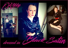 BlackSatin (Rikky_Satin) Tags: satin blouse skirt silk black transgender transvestite tranny sissy secretary housewife pantyhose highheels sexy sweet shiny dress crossdresser crossdressing