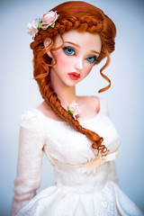 Ginger Vintage (Amadiz) Tags: wig wigs amadiz amadizstudio abjd bjd hairstyle fashion doll dolls soom topaz ginger vintage