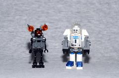 Big Boyz (Evgenion) Tags: lego custom minifigure minifig figure fig cyborg exo suite mech revenant doom batman dc comics mr freeze robot moc toy super heroes superheroes villains
