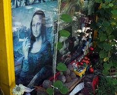 Mona Lisa's Secret (jeffcbowen) Tags: kassa rastafarian monalisa pot weed toronto