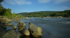 potomac river (CU TEO MD) Tags: river water rocks park flow ngc twop soe simplysuperb artofimages naturebynikon nikon d750 trees longexposure