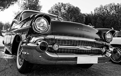 Vintage Car (David Cucaln) Tags: davidcucalon cucalon vintage car coche retro blackandwhite blancoynegro