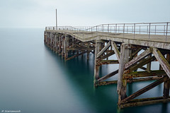 Trefor Pier , North Wales UK (scarramooch) Tags: trefor north wales long exposure lee filters big stopper pier uk d7100 sea water nikon