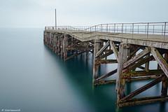 Trefor Pier , North Wales UK (scarramooch) Tags: trefor north wales long exposure lee filters big stopper pier uk d7100 sea water nikon