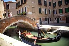 Arrivederci, Maverick (cookedphotos) Tags: canon 5dmarkii travel italy venice venezia gondola water boat gondolier sunglasses street photography