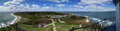 The View from Montauck Lighthouse (aaron13251) Tags: longisland panorama lighthouse view atlantic ocean