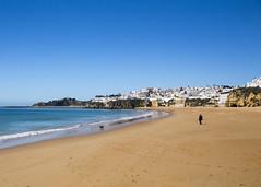 Albufeira (Hans van der Boom) Tags: vacation holiday europe portugal algarve albufeira beach alone empty one ocean atlantic pt