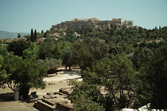 Athens (micebook) Tags: athens greece ruins architecture europe buildings tourism trees flag collosseum greeks