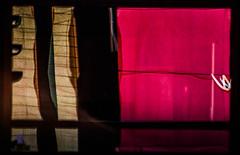 MY BARRIO IS WATCHING IN THE MIRROR (aldogiraldo) Tags: building traffic light neiborghood barrio mirror purple reflections