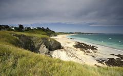 Les Grands Sables # 1 ~ Belle-le-en-Mer [ Bretagne ~ France  ] (emvri85) Tags: sea sun mer island soleil brittany bretagne cliffs plage falaises le belleile belleileenmer samzun lesgrandssables leefilters villagedesamzun