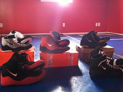 Inflict swagg (ohio wrestler-wants rulons size 11) Tags: red black grey shoes 10 wrestling 11 nike og asu 12 internationals teals jackals sissys asic lbn freeks reissues takedowns lytes td3 bnib adizero rulons kolats inflicts legits