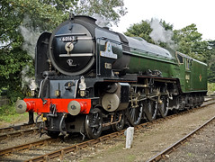 Tornado (Gerry Balding) Tags: england smoke engine steam locomotive a1 tornado gala eastanglia peppercorn northnorfolkrailway northnorfolk uksteam 60163 thepoppyline mgnr sheringhamwest