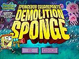 海綿寶寶:大戰水母(Demolition Sponge)