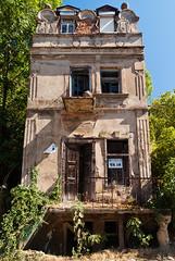 "Vila ""Promaja"" (Color) (coa75) Tags: old house architecture pentax abadoned polarizing k10d fujiyamacpl"