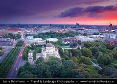 Latvia - Riga - Historical centre - UNESCO World Heritage Site - Russian Orthodox Cathedral of the Birth of Christ & City Skyline along the river Daugava flowing into Gulf of Riga ( Lucie Debelkova / www.luciedebelkova.com) Tags: world trip travel vacation holiday tourism beautiful wonderful island nice fantastic perfect europe tour place awesome sightseeing eu visit location tourist best latvia unesco journey stunning destination sight traveling lovely visiting exploration incredible touring breathtaking riga 100commentgroup luciedebelkova wwwluciedebelkovacom luciedebelkovaphotography
