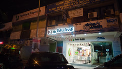 Tutti Frutti (jenschuetz) Tags: street nightphotography travel vacation holiday motion blur southeastasia driving traffic malaysia neonlights nightlife kualalumpur aroundtown kl overseas gettinouttadodge