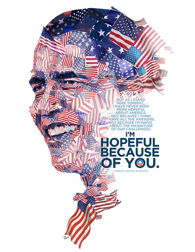 Barack Obama: Hopeful because of you / Charis Tsevis