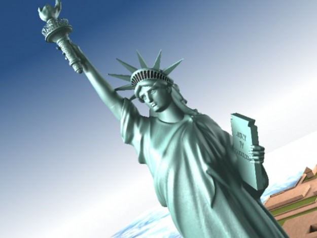 Statue Of Liberty USA 3D model (CGTrader 3D models) Tags  new york nyc afac1be26
