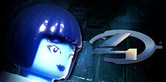 Halo 4 - Cortana Preview (MGF Customs/Reviews) Tags: dawn lego chief 4 halo master requiem forward spartan 117 cortana unto