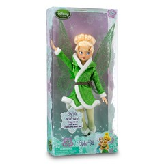 ''Secret of the Wings'' Disney Fairies Tinker Bell Doll -- 10'' - Disney Store US Product Image #2 - Boxed (drj1828) Tags: doll bell wing disney fairies tinker flutter 10inch poseable secretofthewings