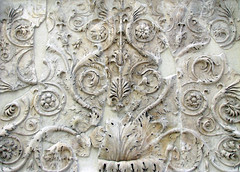 Ara Pacis, acanthus forms