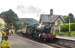 Llangollen Railway (RhinopeteT) Tags: manor llangollenrailway 460 foxcotemanor