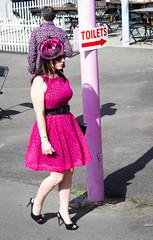 Toilets (Matthew Kenwrick) Tags: ladies cute hats couples photographers dresses candids betting f28 winning sunnies 2470mm fascinators daycairnsqueenslandaustraliaracingcarnivalpartyhorsehorsespeoplegirlsbabehottiessexyyoungoldtallfashionfunsmilescurveslegslipstickcolourcrazydrinkingeos7def