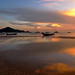 Ko Tao sunset - Sairee beach - Thailand