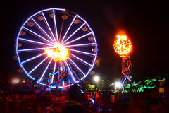 Zoa @ Nocturnal Wonderland 2012 (jezebel001) Tags: california oakland interactive nocturnalwonderland sanbernardino fireart insomniacevents fluxfoundation