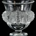 140. Lalique Bird Motif Urn